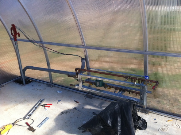 manifold for greenhouse