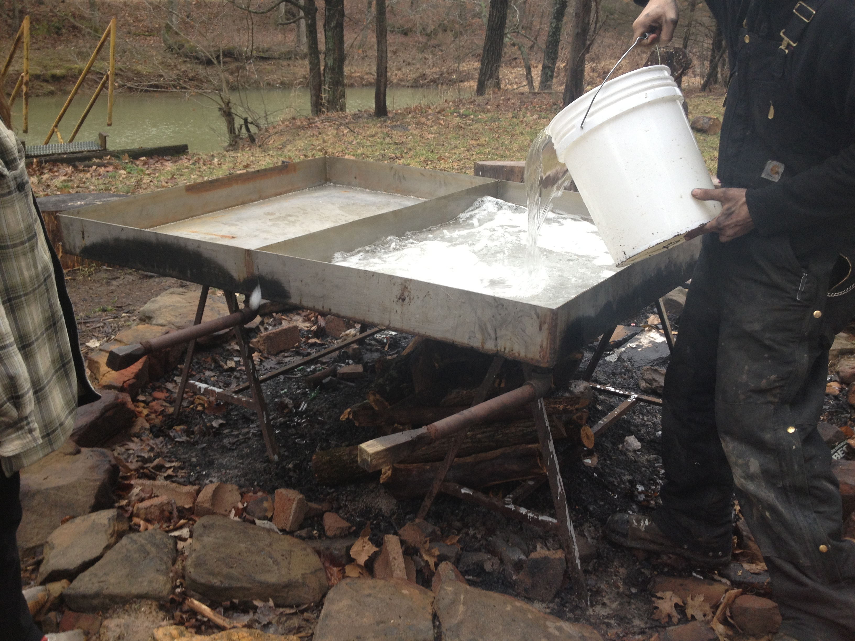 b25ca66da46 Sipping on some siz-yrups  Making homemade maple syrup (part deux ...