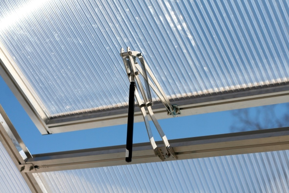 automatic window openers for the greenhouse