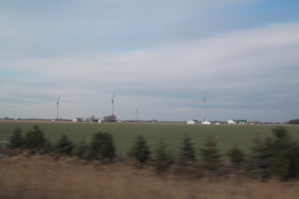 The windmills on the outskirts of Leamington