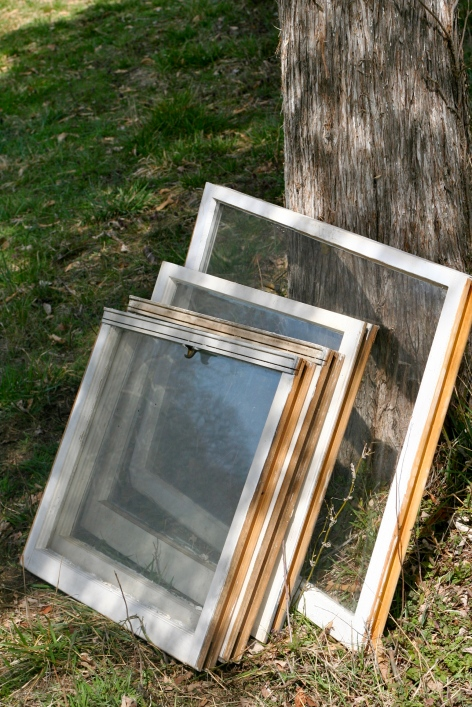 Windows for chicken coops