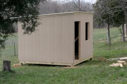 Building new chicken coop