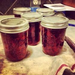 homemade strawberry chipotle jam